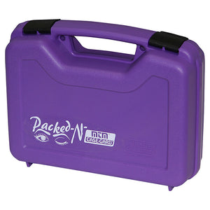 MTM 80525 Pistol Handgun Case Single up to 4 Inch Revolver Purple