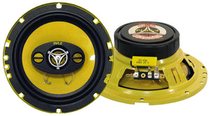 "Pyle Pair Plg6.4 6.5"" 4 Way 300 Watt Car Audio Speakers 300 Watt 6 1/2"" Plg64"