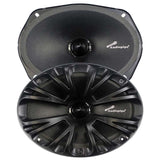 "Audiopipe APMB6900C 6X9"" Mid Frequency Loudspeakers 125W RMS 8Ohms (Pair)"