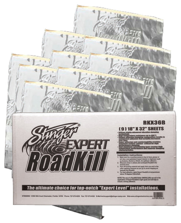 Roadkill RKX36B Expert Bulk Pack 36 sq. ft.