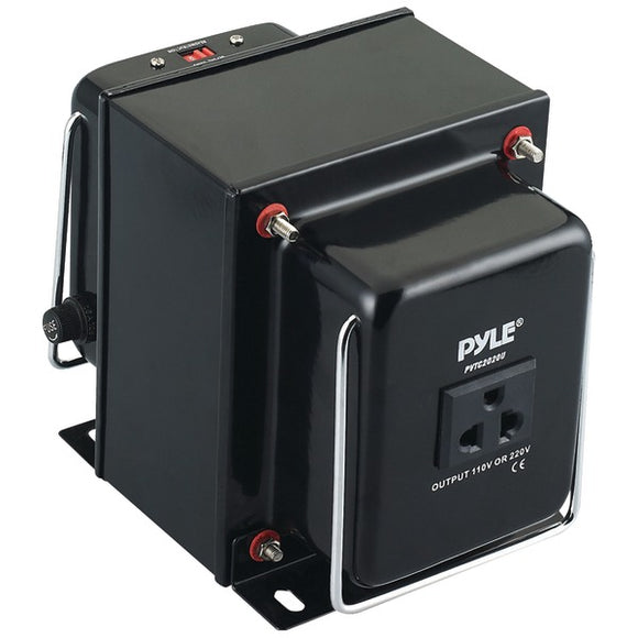 Pyle PVTC2020U Step Up and Down 2000W AC 110/220 Volts Transformer AC