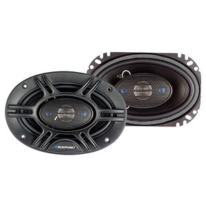 "Blaupunkt GTX406 4x6"" 4-Way Coaxial Speaker 240 Watts Pair"