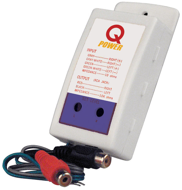 Qpower QP07 Hi-Lo adaptor