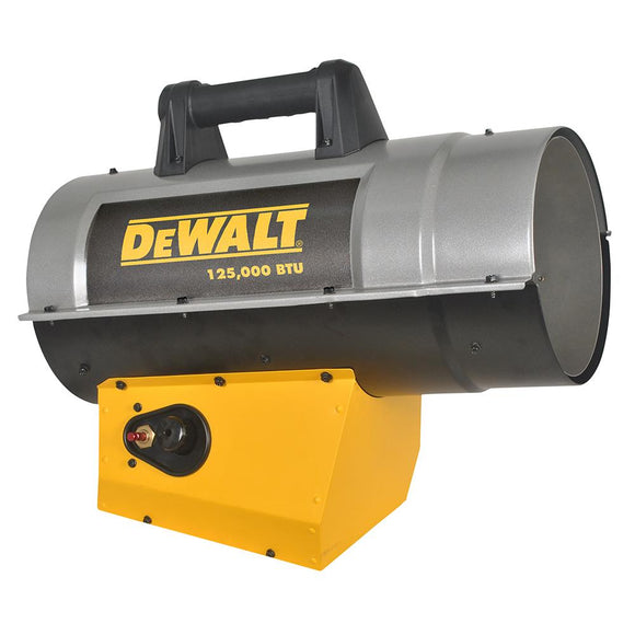 Mr Heater F340720 Dewalt 85K-125K Btu Forced Air Propane Heater