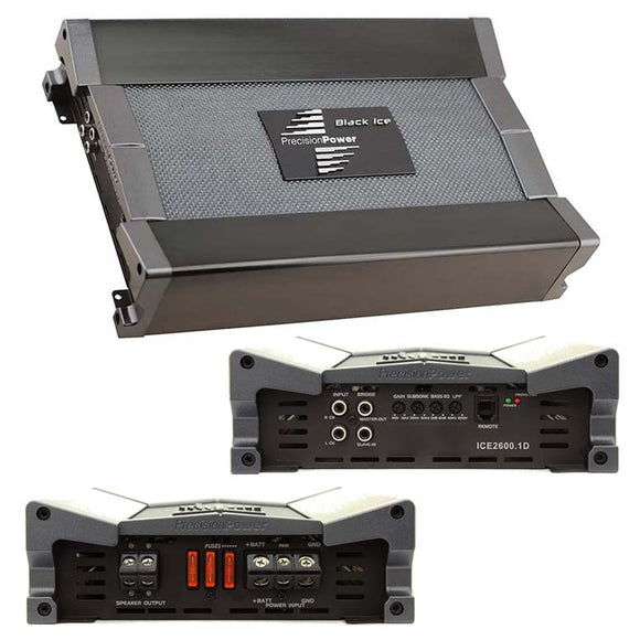 Precision Power ICE26001D 2600 Watt Class D Monoblock Amplifier