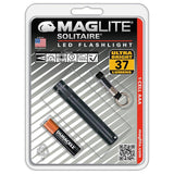Maglite SJ3A016 1 CELL AAA Solitaire LED Flashlight Black