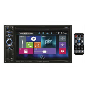 "Power Acoustik PD624B 6.2"" Double DIN AM/FM/CD/DVD/USB/BT"