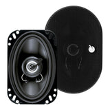 "Planet Audio TRQ462 Torque Series 200 Watt 4X6"" 2-Way Speakers"