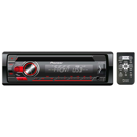 Pioneer DEHS1100UB Single Din CD PlayerAux Input USB 1xPreOutAndroid Playback
