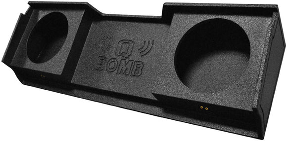 Q-Bomb GMC Chevy Silverado Ext Cab '99-06 Dual Two 12