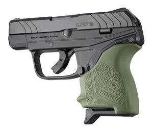 Hogue 18121 Hall Beavertail Grip Sleeve Ruger Lcp Ii Od Green