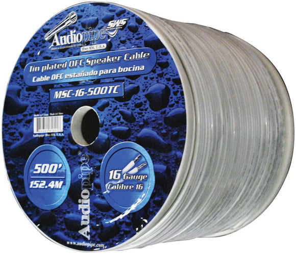Audiopipe MSC16500TC Marine 16 Gauge 500' Flexible Wire