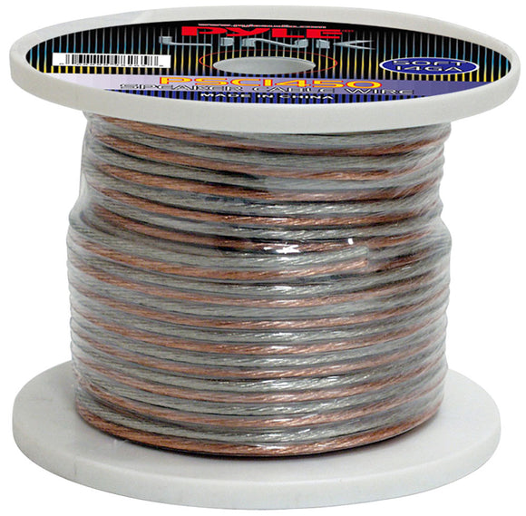 Pyle PSC1450 14 Gauge 50 ft. Spool of High Quality Speaker Wire