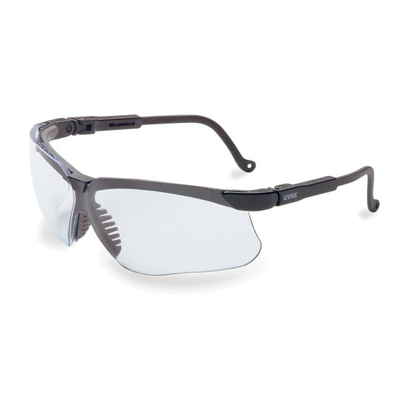 Howard Leight R03570 Genesis Black Frame Clear Lens Anti-Fog