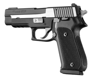 Hogue 20179 Sig Sauer P220 Da/Sa American - Checkered - G10 Solid Black