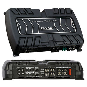 Power Acoustik BAMF4-1200 BAMF Series Class Ab Amp 4 Ch 1200W