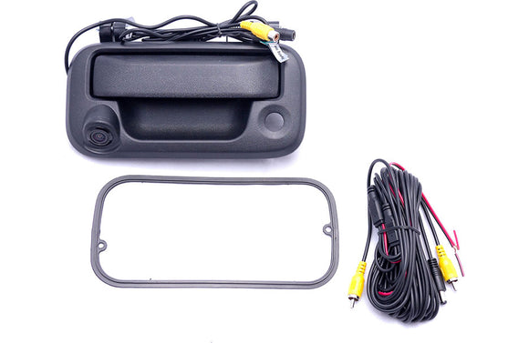 Crux CFD03F Backup camera for select 2004-up Ford trucks-tailgate handle
