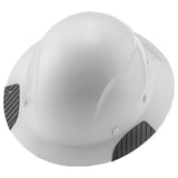 Lift Safety HDF15WG Dax Fiber Resin Full Brim Gloss White