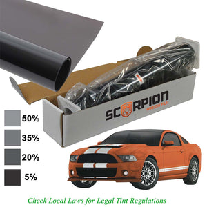 "Scorpion DS20B40 Window Tint Desert Series 2 ply 20% 40""x 100' roll 2 ply Extruded Dye"