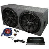 Audiopipe APSB12212PX Bass Package - includes APMCRO18002xTSPX1250 in Sealed Box & BMS1500SX