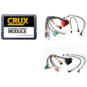 Crux SWRAD55 Audi  Radio Replacement W/Swc Retention For Audi Vehicles