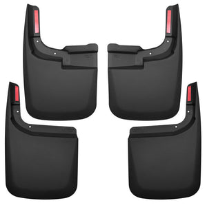Husky 58466 Liners Front And Rear Mud Guard Set 17-2020 Ford F150-Black