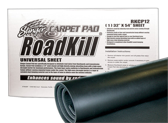Roadkill RKCP12 Carpet Pad