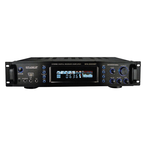 Studio Z SPA3000BT Hybrid Pro Amplifier with Tuner USB and Bluetooth