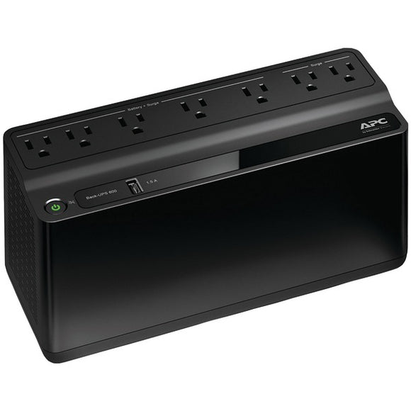 APC BE600M1 7-Outlet Back-UPS Network