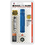 MAGLITE XL200S3116 XL200 3CELL AAA LED Flashlight Blue