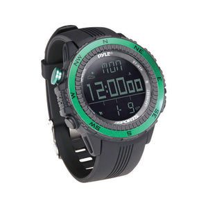 Pyle PSWWM82GN Multifunction Active Sports Watch Green