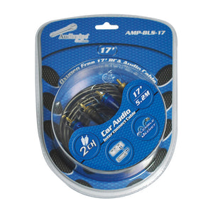 Audiopipe AMPBLS17 17' Car Audio RCA Cable