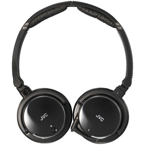 JVC HANC120 Noise-Canceling Headphones with Retractable Cord