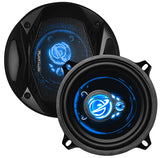 "Planet Audio AC523 5.25"" 300 Watts Max 3 Way LED Illuminated Tweeters"