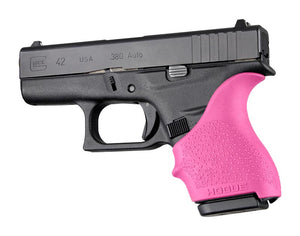 Hogue 18207 Handall Beavertail Grip Sleeve Glock 42 43 Pink