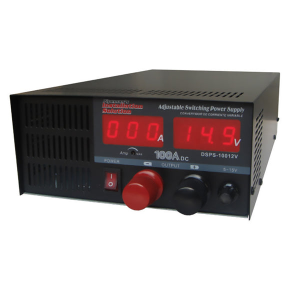 Installation DSPS10012V Solutions 100 Amp Power Supply