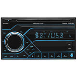 Planet Audio PB475RGB DDin MP3/CD/AM/FM Receiver Bluetooth Multi Color Display
