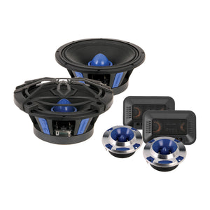 "SoundStream SME650C 6.5"" Pro Audio Components w/Tweeters-Crossovers 200w"