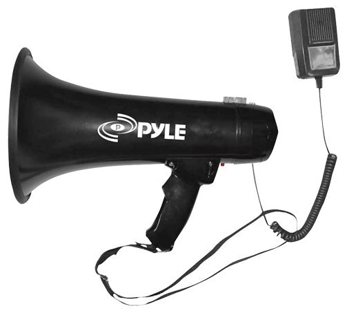 Pyle Pro PMP43IN Megaphone with Siren and 3.5mm Aux Input