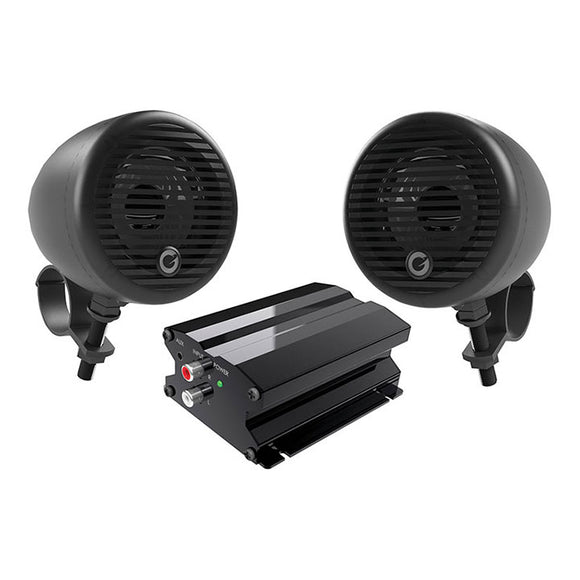 Planet Audio PMC2B Motorcycle/ATV System w/ Bluetooth pair of 3