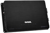 SSL EV2500M Evo Series 2500-watt Class A/B Monoblock 2 Ohm Stable Amplifier with Remote Subwoofer Level Control