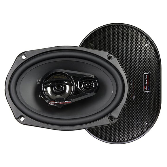 American Bass SYMPHONY6X9 Symphony 6x9 3-way 250 Watt Speaker
