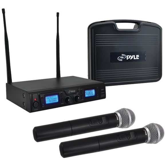 Pyle PDWM3360 UHF Wireless Microphone System