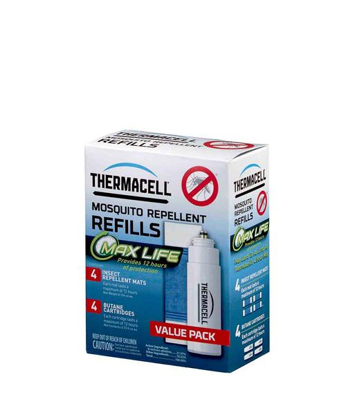 Thermacell Max Life Mosquito Repellent Refills 48 Hours