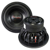 American Bass TNT1044 10 inch Dual 4 Ohm Car Stereo Subwoofer