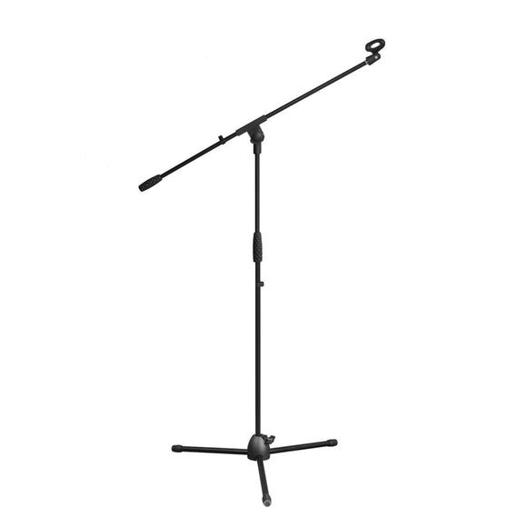 Pyle PMKS3 Height AdjustableTripod Microphone Stand w/ Mount Extending Boom Mic Arm