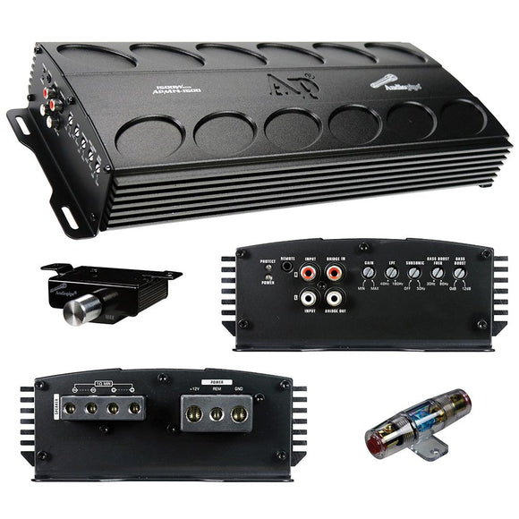 Audiopipe APMN1500 1500 Watts RMS Mini Amplifier Class D