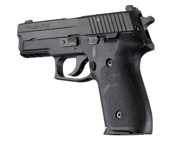 Hogue 28010 Sig Sauer P228/P229 Rubber Panels Black