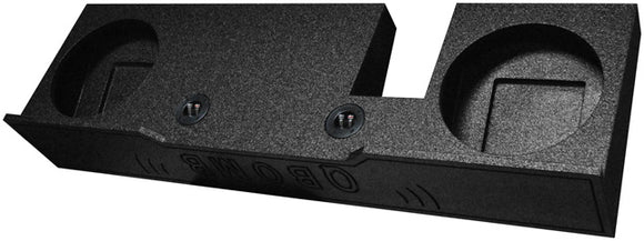 Q Power Dual 12-Inch Subwoofer Box for 2004-2008 F-150 X-Cab & Super Crew