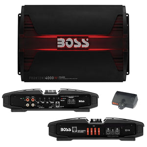 Boss PD4000 PHANTOM 4000 Watts Class D Monoblock Power Amplifier